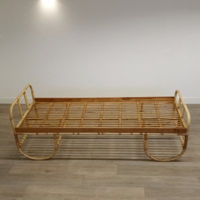 Vintage Rattan (Day)bed, 1960s