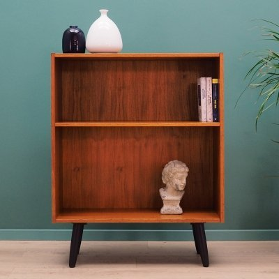 Vintage bookcase in teak, 1970s