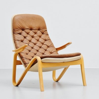 Sam Larsson Metro lounge chair by Dux Sweden, 1970