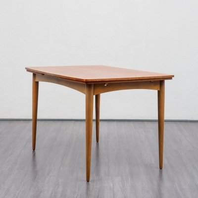 Extendable dining table in teak, 1960s