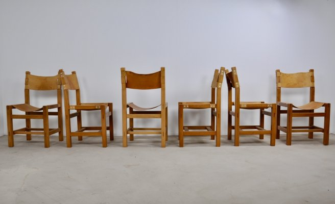 Set of 6 Chairs from Maison Regain, 1960s