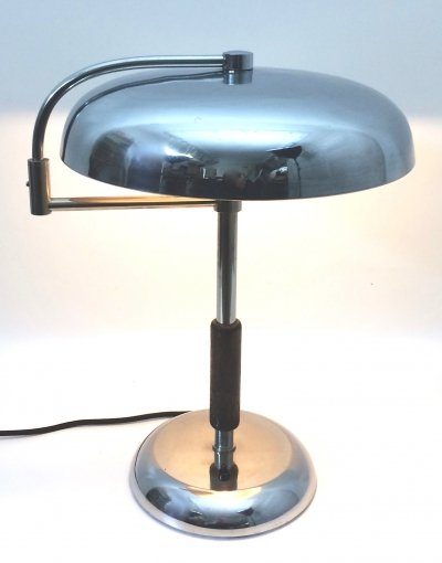 Large desk lamp by Maison Desny Paris, 1930s