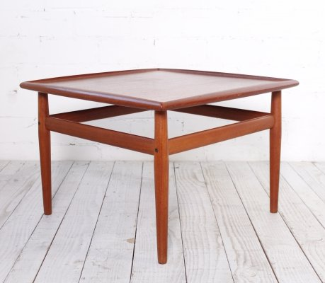 Coffee table designed by Grete Jalk for France & Son, 1960s