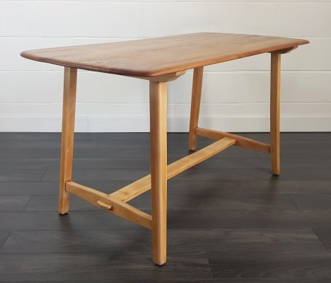 Ercol CC 41 Plank Dining Table, 1950s