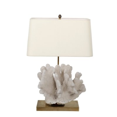 Coral Table Lamp from Belgium, 1970