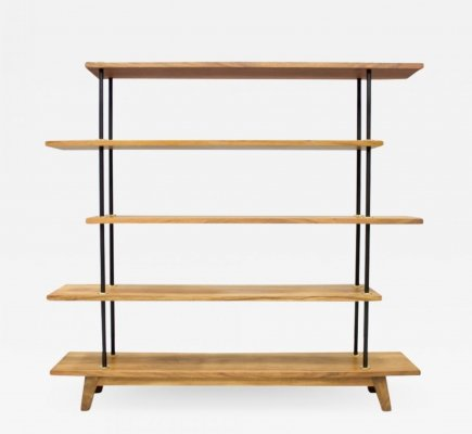Etagere in Teak with Brass Details, 1950s