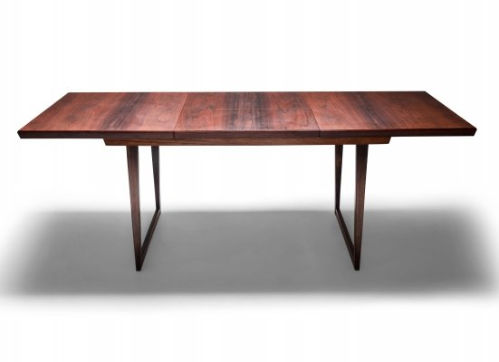 Danish Modern Design Rosewood Dining Table by Kai Kristiansen, 1960's