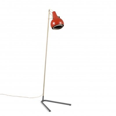 Louis Kalff rare floor lamp Model 'NX29' by Philips, 1950's