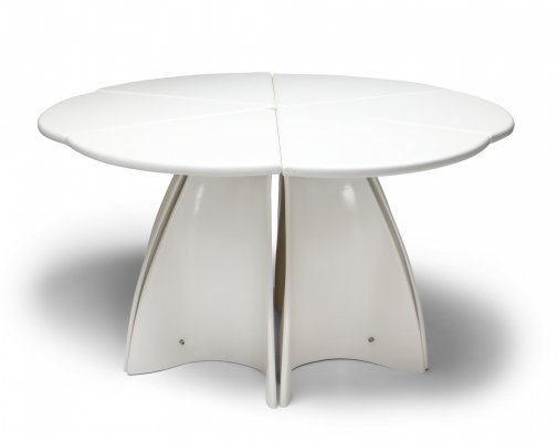 Fabio Lenci post-modern 'Petal' dining table, 1960's