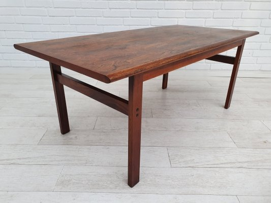 Rosewood Capella coffee table by Illum Wikkelsø for N. Eilersen, 1970s