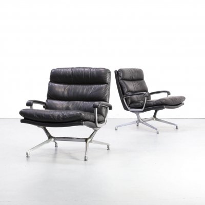 Pair of Paul Tuttle chairs for Strässle International, 1960s