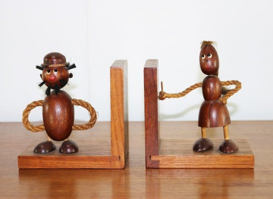 Two wooden bookstands, 1960s