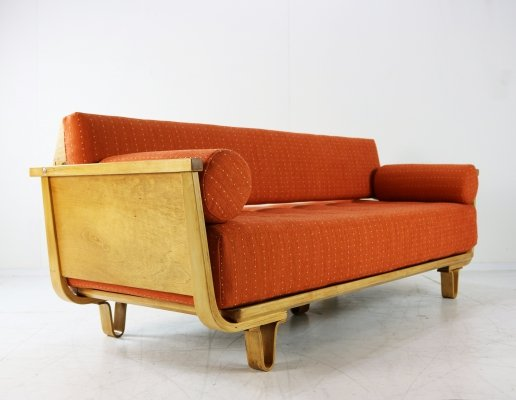 Rare sit & sleep sofa by Cees Braakman for Pastoe, 1954
