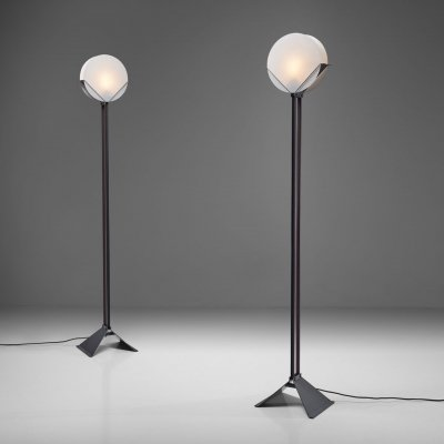 Pair of Limited Edition Menno Dieperink Floor Lamps, The Netherlands 1983