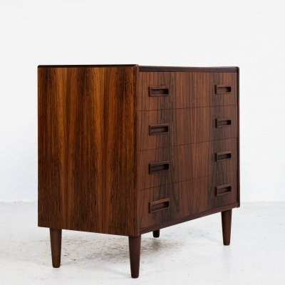 Midcentury Danish chest of 4 drawers in rosewood by Westergaard, 1960s