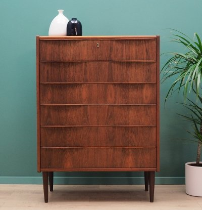 Mid century teak chest of drawers, 1970s