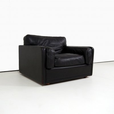 Leather armchair model 'Socrates' by Poltrona Frau, 1980s