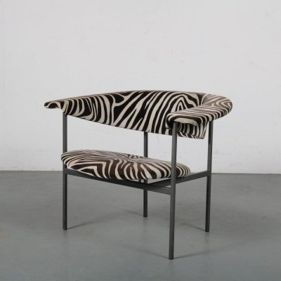 1960s 'Meander Gamma' chair by Rudolf Wolf for Gaasbeek en Van Tiel, 1960s