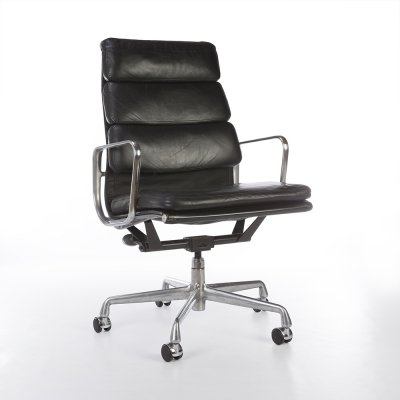 Eames EA437 High Back Soft Pad Office Chair by Herman Miller, 1990s