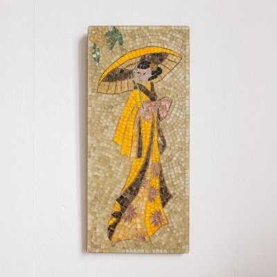 Mosaic wall art by Marie Netz