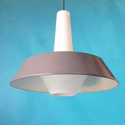 Mid century pendant lamp by Louis Kalff for Philips, Netherlands 1950s