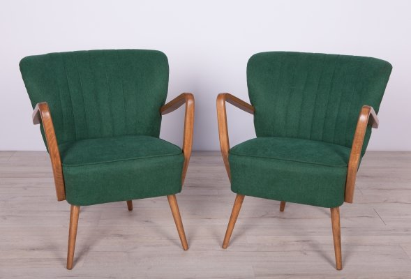 Pair of Mid-Century Cocktail Chairs, 1950s