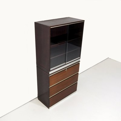 Office cabinet with display unit by Ico & Luisa Parisi for M.I.M.Roma