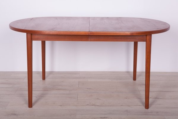 Mid century Teak Dining Table by Nils Jonsson for Hugo Troeds, 1960s
