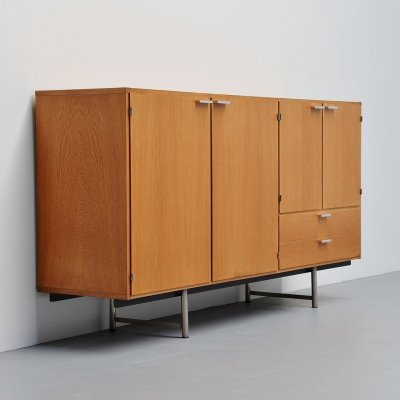 Cees Braakman for Pastoe Made to Measure buffet in oak, Holland 1965
