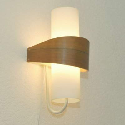 3 x Nx40 wall lamp by Louis Kalff for Philips, 1960s