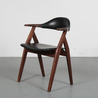Cowhorn style chair, the Netherlands 1950s