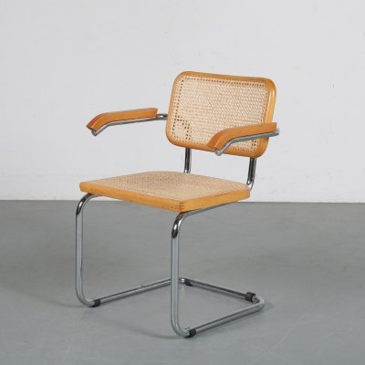 'Cesca' chair by Marcel Breuer, Italy 1970s