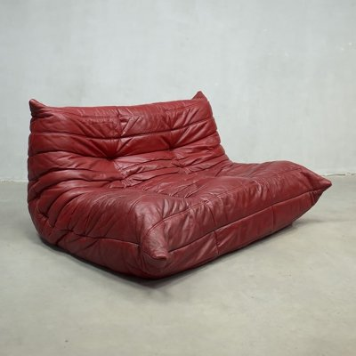 Vintage two seater Togo sofa by Michel Ducaroy for Ligne Roset, 1970s