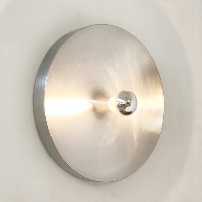 Aluminium Honsel Leuchten Wall Sconce selected by Charlotte Perriand for Les Arcs, 1970s