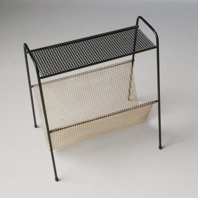 Perforated Metal Magazine Holder, 1950s