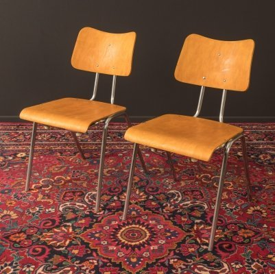 Pair of Chairs by Drabert, 1950s