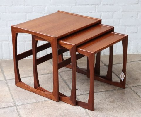 Set of nesting tables, 1960s