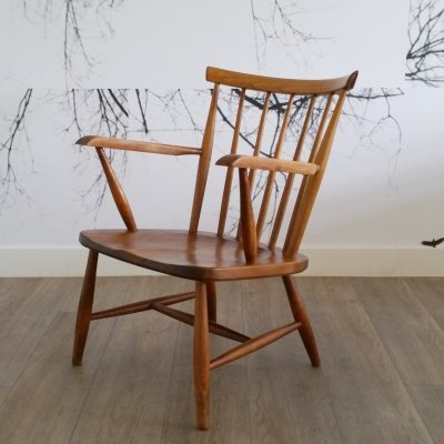 Spindle Back Armchair, 1960s