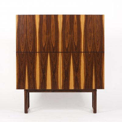Rosewood Wardrobe Cabinet, 1970s