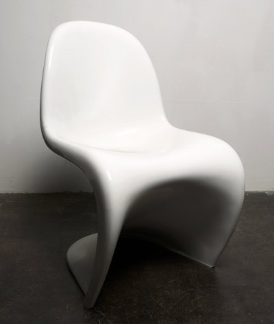 2 x Panton dining chair by Verner Panton for Fehlbaum for Herman Miller, 1970s