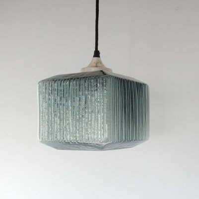 Double glass chalice pendant light from Denmark