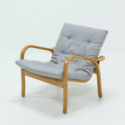 Swedish Laminett Lounge Chair by Yngve Ekström for Swedese, 1960s