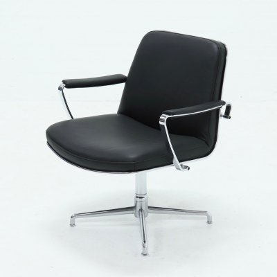 Kill International JK9351 Swivel Chair by Jørgen Kastholm, 1960s