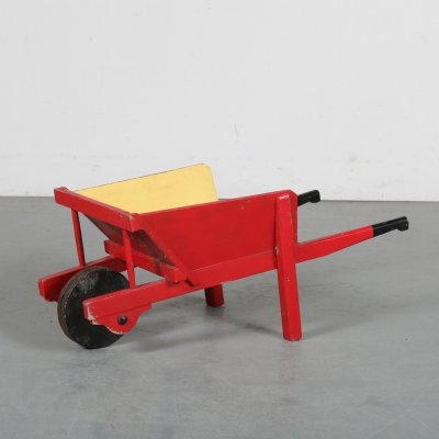 Children wheelbarrow, the Netherlands 1930s