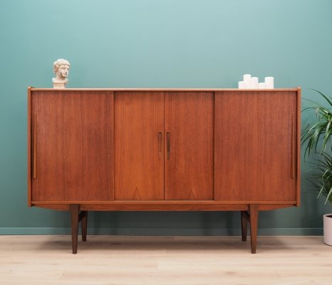 Mid century highboard in teak, 1970s