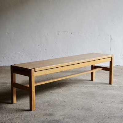 Hongisto Bench by Ilmari Tapiovaara for Laukaan Puu, 1960s