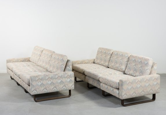 Mid-Century 3-seats 'Conseta' sofas by Friedrich Wilhelm Möller for COR, 1960s