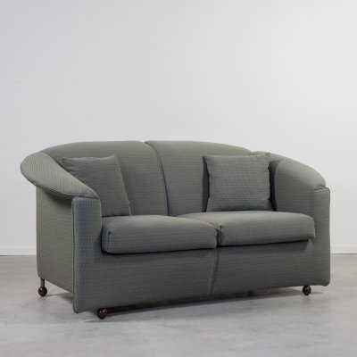 Paolo Piva for Wittmann two seats 'Aura' sofa, 1980s