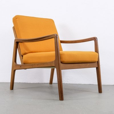 FD 109 Lounge Chair by Ole Wanscher for France & Søn