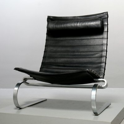 PK20 Lounge Chair by Poul Kjaerholm for Fritz Hansen, 1987